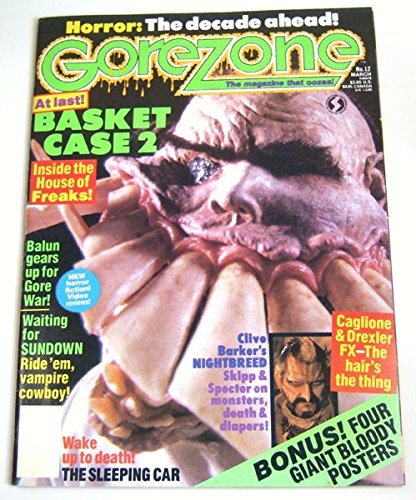 GOREZONE MAGAZINE # 12 (March 1990)