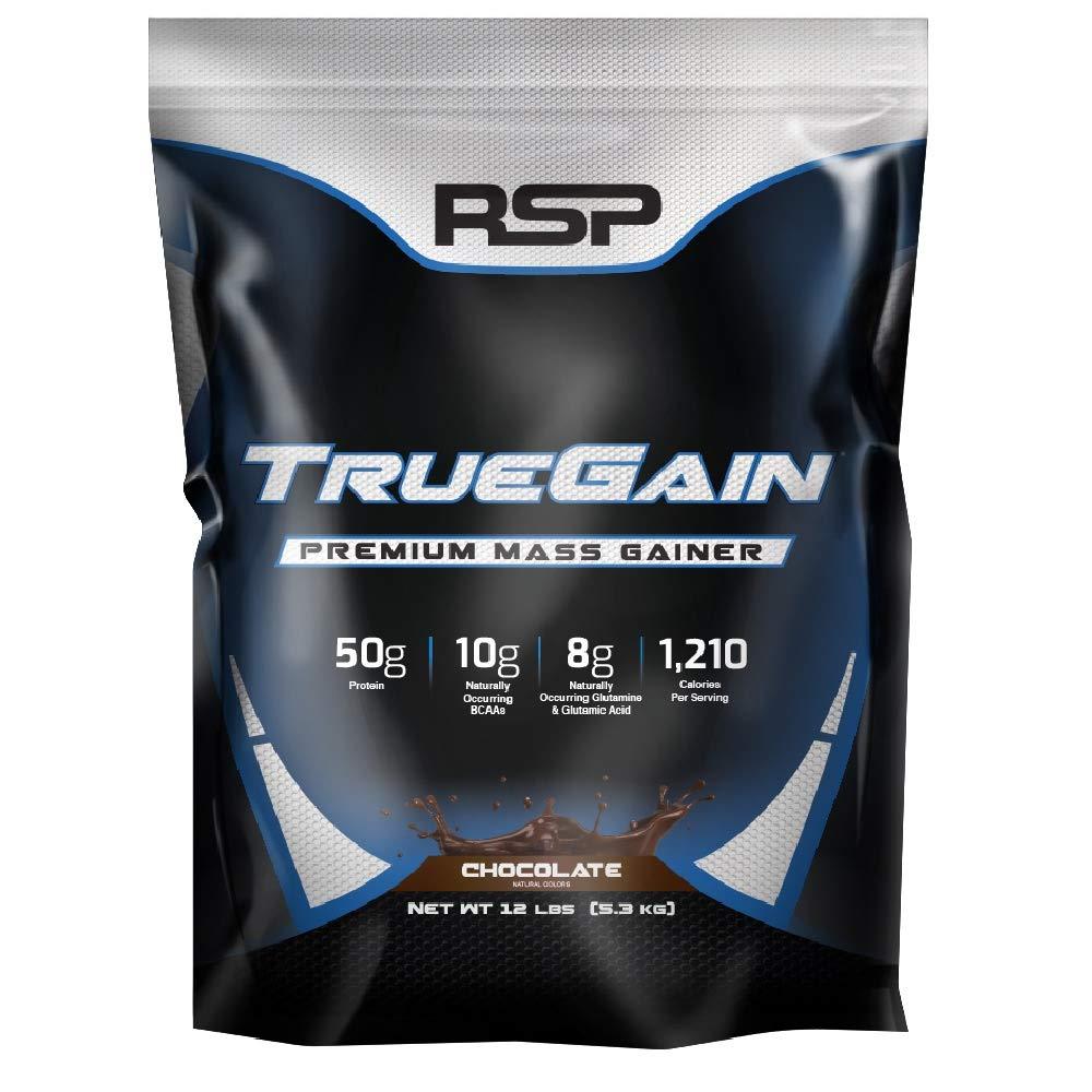 RSP Nutrition True-Gain, Premium Mass Gainer Protein - 12 lb ...