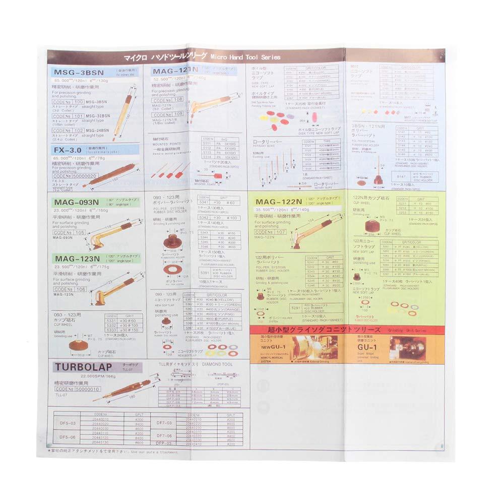 KKmoon Micro smerigliatrice pneumatica 90 /° Grado 3MM Micro Air Die Pneumatica Pencil Polisher Tool