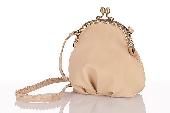 Trachten Handtasche Mariella Creme Amazon De Bekleidung