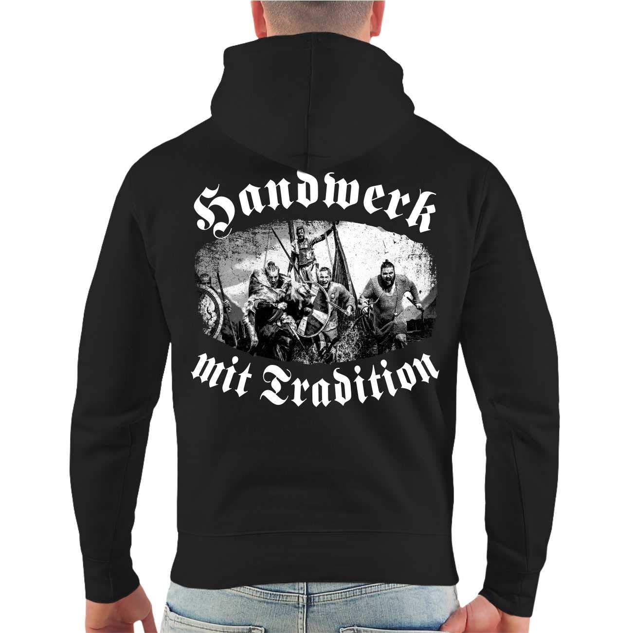 SONS OF ODIN Männer Männer Männer und Herren Kapuzenpullover Wikinger Handwerk mit Tradition (mit Rückendruck) Größe S - 8XL B07C1Z5SLV Sweatshirts Voller Charme 980ed1