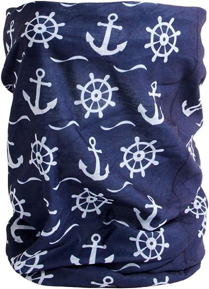 Nickituch Maritim Anker Anchor Marine Multifunktionstuch Halstuch