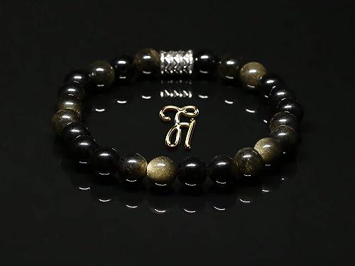 rotes Tigerauge Armband Bracelet Perlenarmband Silber Beads rot 8mm