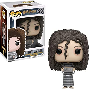 Funko POP Harry Potter: Muñeco de Bellatrix Lestrange prisionera de Azkaban