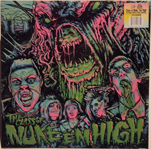 The Class of Nuke Em High Black Vinyl/Mp3 Download