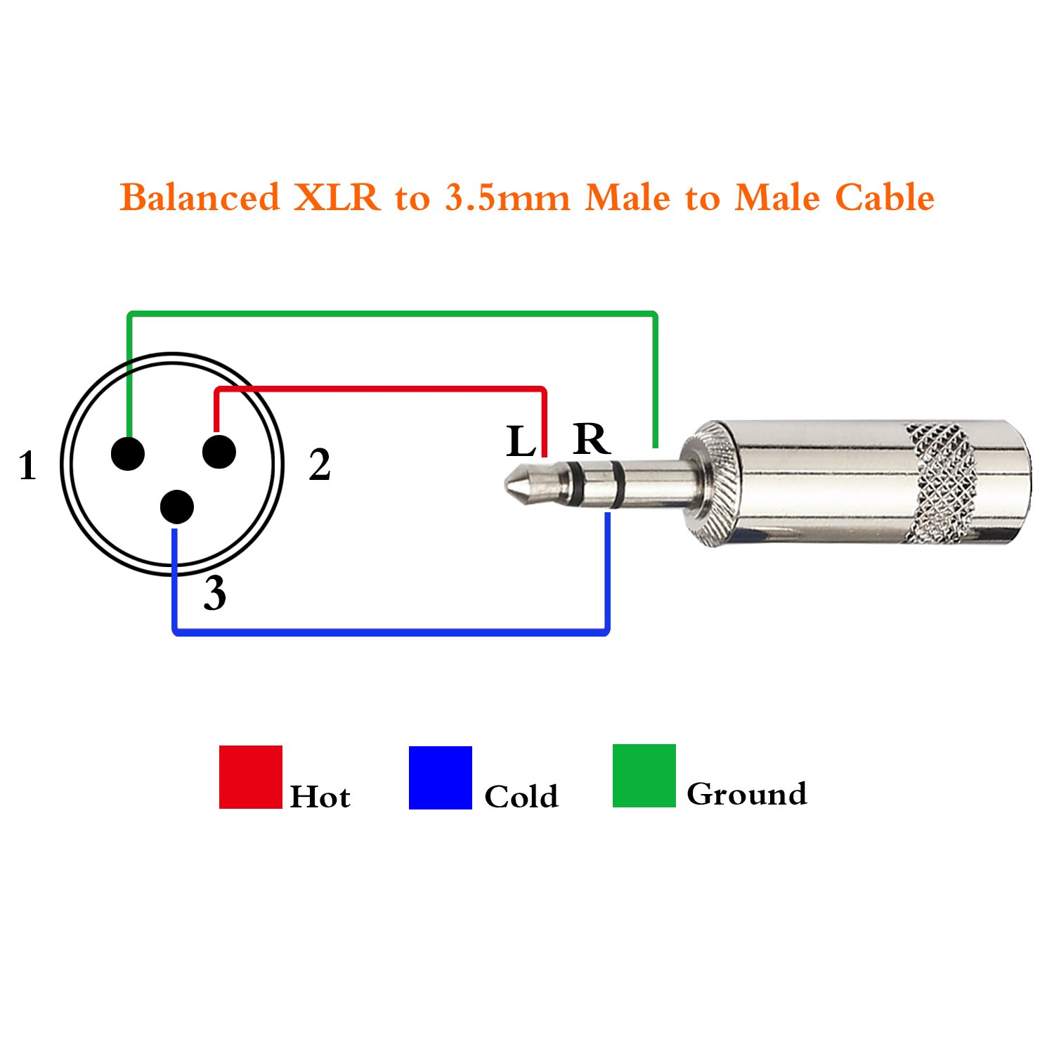 Xlr Male To Female Wiring Diagram
