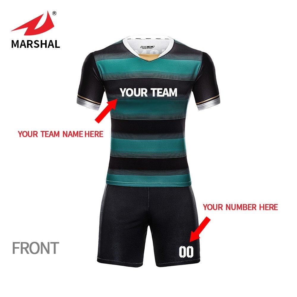 cb7f2dccbaf ZHOUKA Sublimation Sports Jersey New Model Custom Sportswear Youth Soccer  Kit Jersey Sport Uniforms Football Jersey