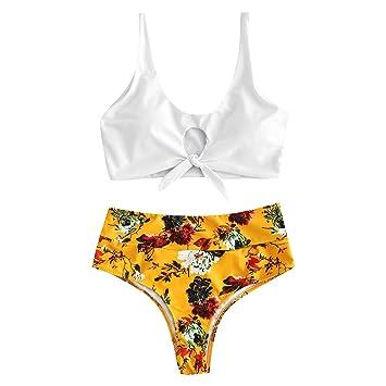 Imprimen Up Vendaje Bikini LilicatMujeres Conjunto Que Push POk0wn
