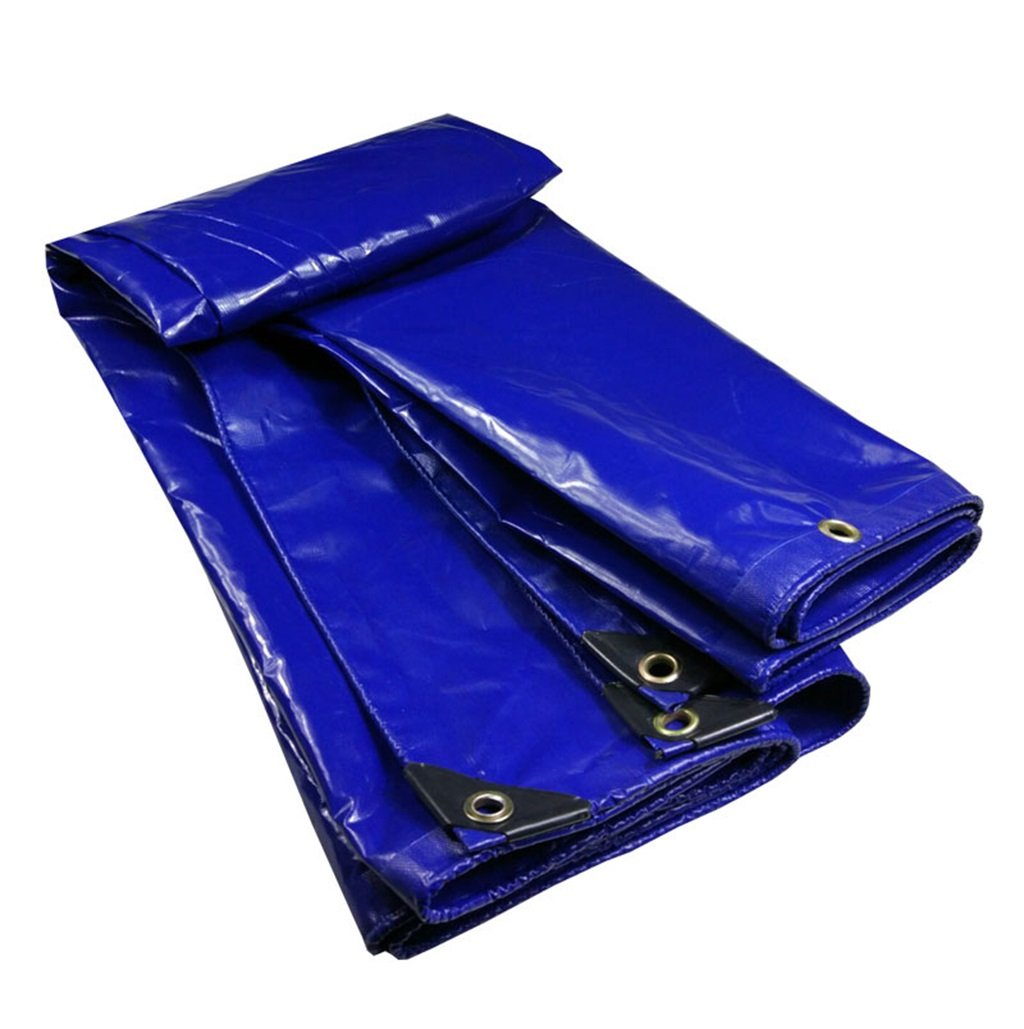 CAOYU Plane aufgefüllter regendichter Wasserdichter Logistik-LKW, der staubdichte Winddichte Plane, blau errichtet