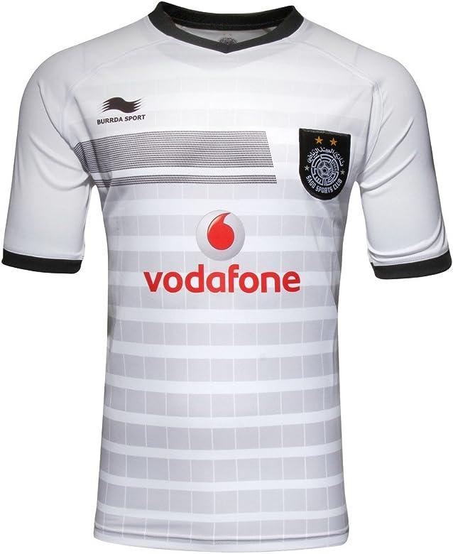 Burrda Al Sadd 2016 Home Xavi 6 réplica S/S Camiseta de fútbol ...