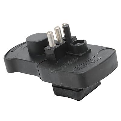 Bapmic 3437224035 Air Flow Meter Potentiometer Sensor for Mercedes-Benz 190E 300E 300CE 300TE 300SEL 400E 500E: Automotive