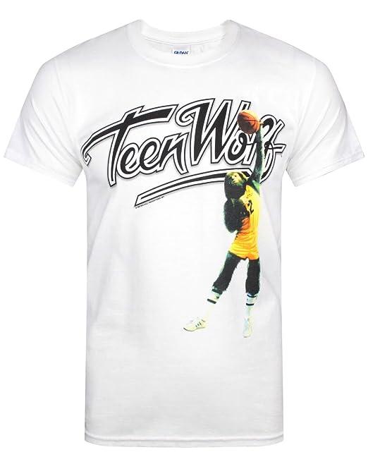 Hombres - Official - Teen Wolf - Camiseta (XXL)