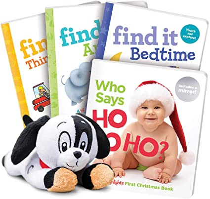 Amazon Com Highlights 5 Piece Christmas Set For Babies And Toddlers Ages 0 2 Toys Games
