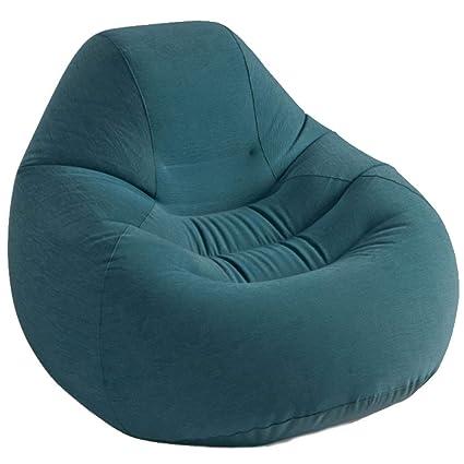 Amazon.com: LJM – Sofá Lazy, silla de espuma para puf, sofá ...