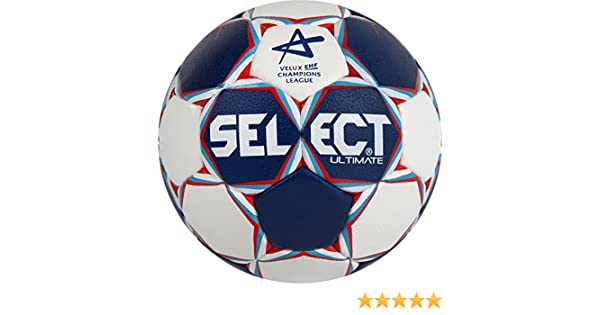 SELECT Balón de Balonmano Ultimate CL, Colour Azul/Blanco/Rojo, 2 ...