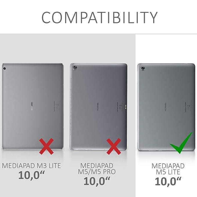 kwmobile 2X Protector de Pantalla para Huawei MediaPad M5 Lite 10: Amazon.es: Electrónica