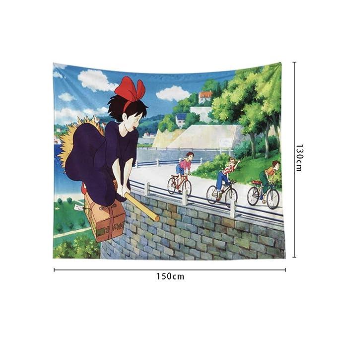 NTWXY Spirited Aime Anime Tapestry Dormitorio Tapicería 3D ...