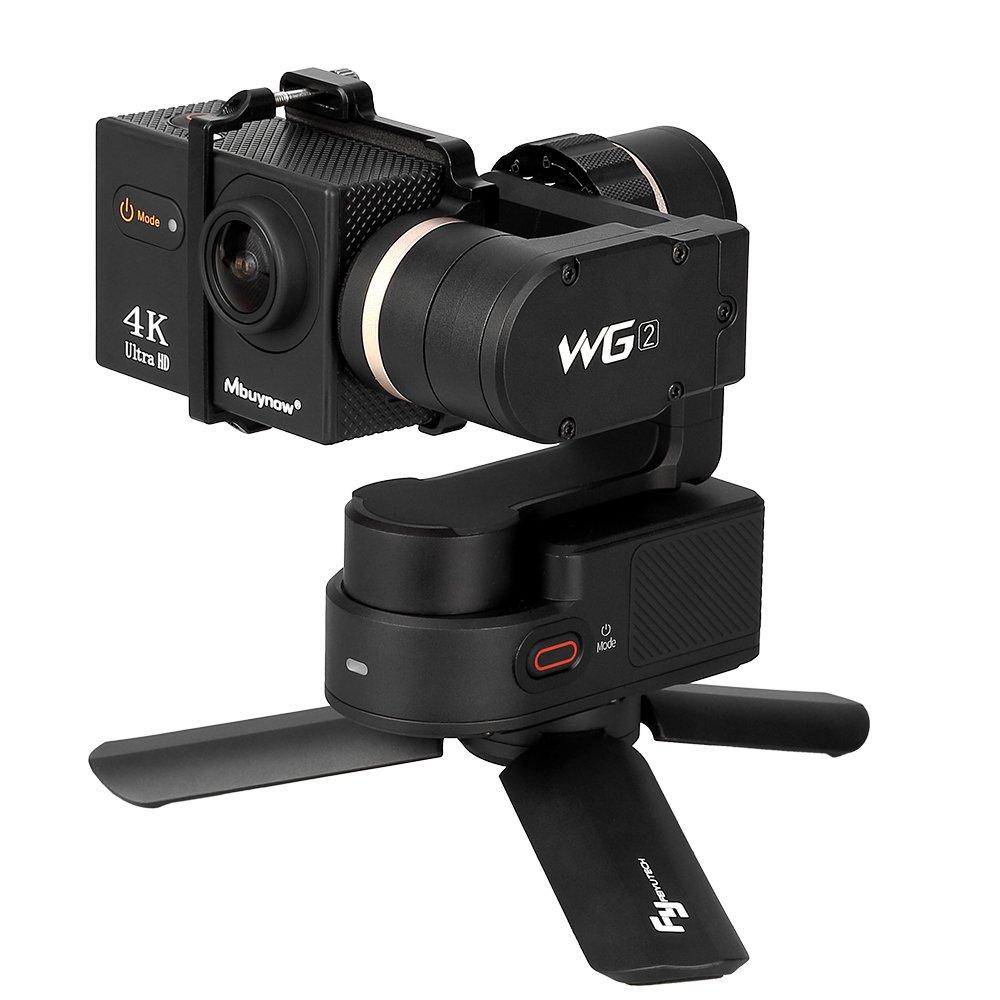 Feiyu Mini Tripod Stand for Selfie Stick Monopod Stabilizer on Cellphone DSLR Cameras, Portable Folding Desktop Stand For Projector For FeiyuTech WG2 G5 SPG WG WGS G4S