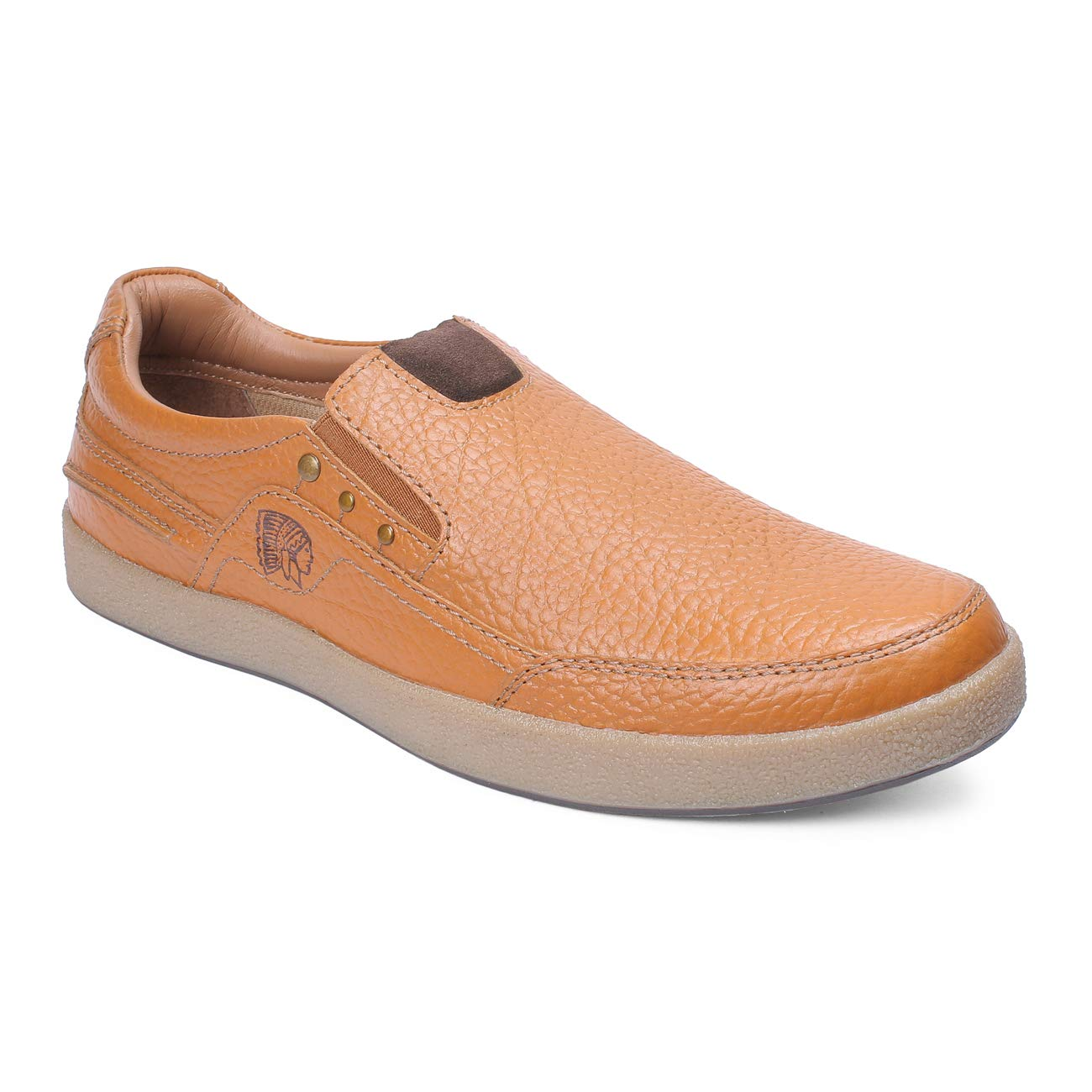 Buy Red Chief Men Tan Leather Casual