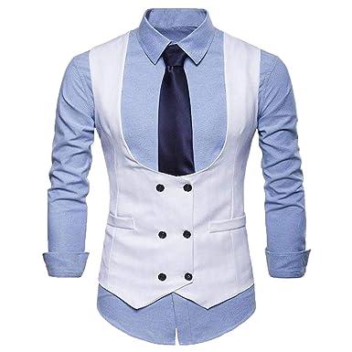 bridalsuits - Traje - para Hombre Blanco Blanco 4X-Large ...