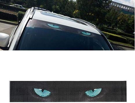 Waterproof Car Front Window Sticker Decorative Sunshade Windshield Decal Sticker