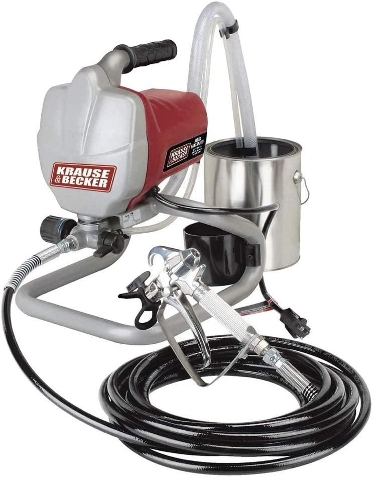 Krause and Becker Airless Paint Sprayer Review (2020 Edition)
