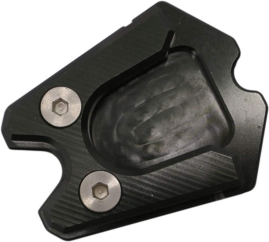Anti Rutsch Shiwaki Motorrad Seitenst/änder Kickstand Extension Pad f/ür Vespa GTS GTV 300ie Schwarz