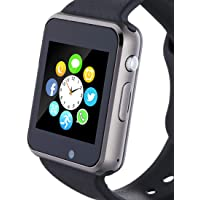 Hocent Smart Watch, Smartwatch with SD Card Camera Pedometer Phone Call Text SNS SMS…