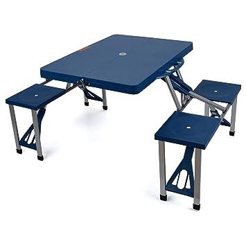 Generic - Juego de Mesa y sillas de Mesa (Plegable, 8 ABS, Color ...