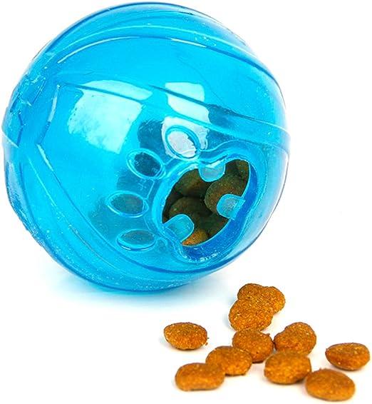 UEETEK Bola de Snack de dispensador de Bolas de Comida para Gatos ...