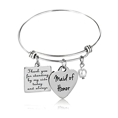Amazoncom Maid Of Honor Gift Bridesmaid Gift Wedding Gift Maid