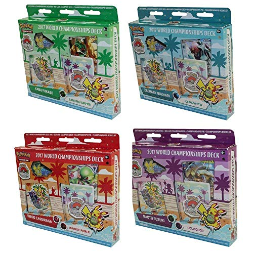 Pokemon 2017 WORLD CHAMPIONSHIP DECKS - BUNDLE OF 4 ()