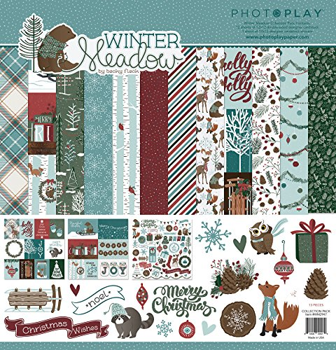 Photoplay Winter Meadow 12x12 Scrapbook Kit