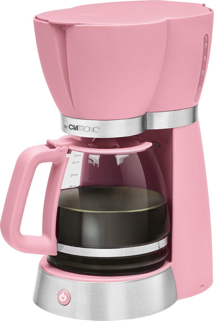 Clatronic coffee machine KA 3689 Pink Fassungsvermögen Tassen=15
