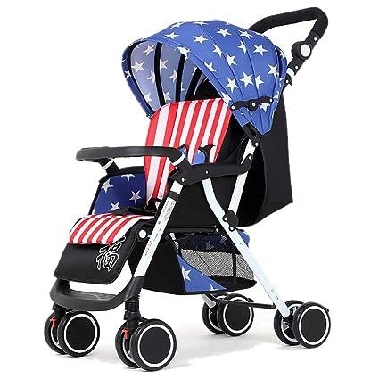 Yhz@ Cochecito para bebés, Carro Infantil Ligero Suspensión ...