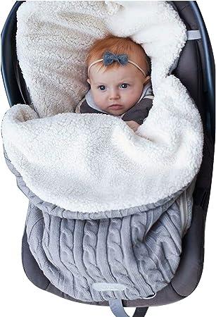 Oferta amazon: envoltura de cochecito de bebé, manta de bebé, saco de dormir para recién nacido Saco de cochecito para niñas o niños de 0 a 12 meses