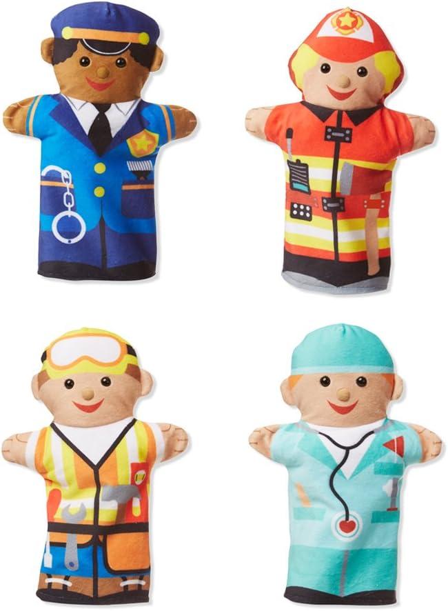 Melissa & Doug 96037 Jolly Helpers Hand Puppet, Multicolor
