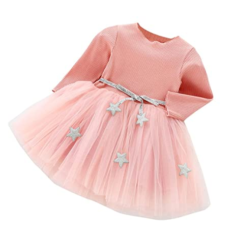 1966c442037a7 Amazon.com: ❤️Baby Dress,Hot New Fashion 2018 Neartime Newborn ...