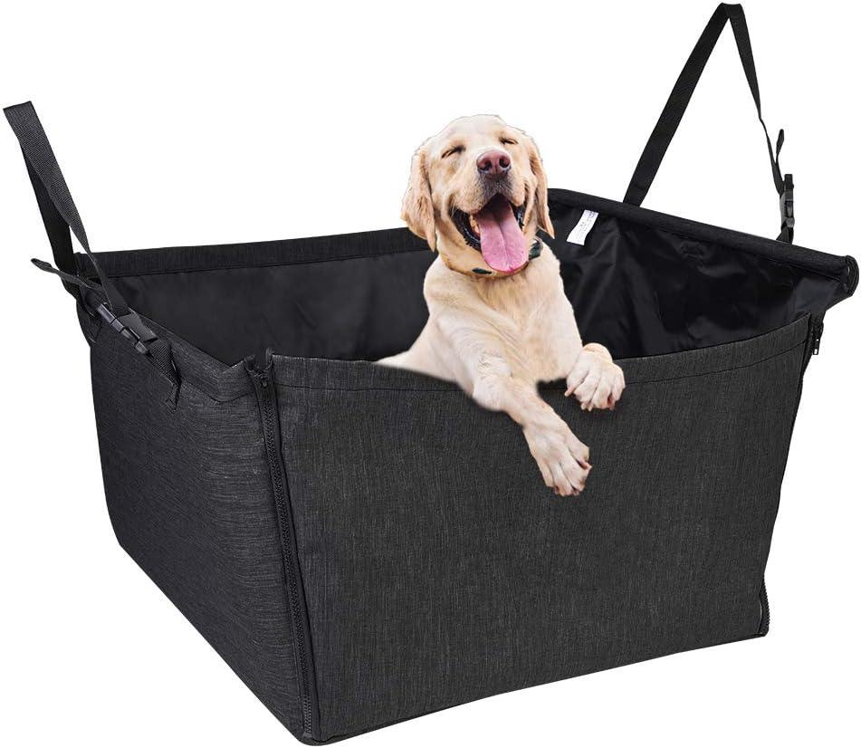 NIBESSER Hunde Autositz Hundesitz wasserdicht Haustierdecke R/ückbank /& Vordersitz Einzelsitz Tragetasche f/ür Kleine Mittlere Hunde Katzen