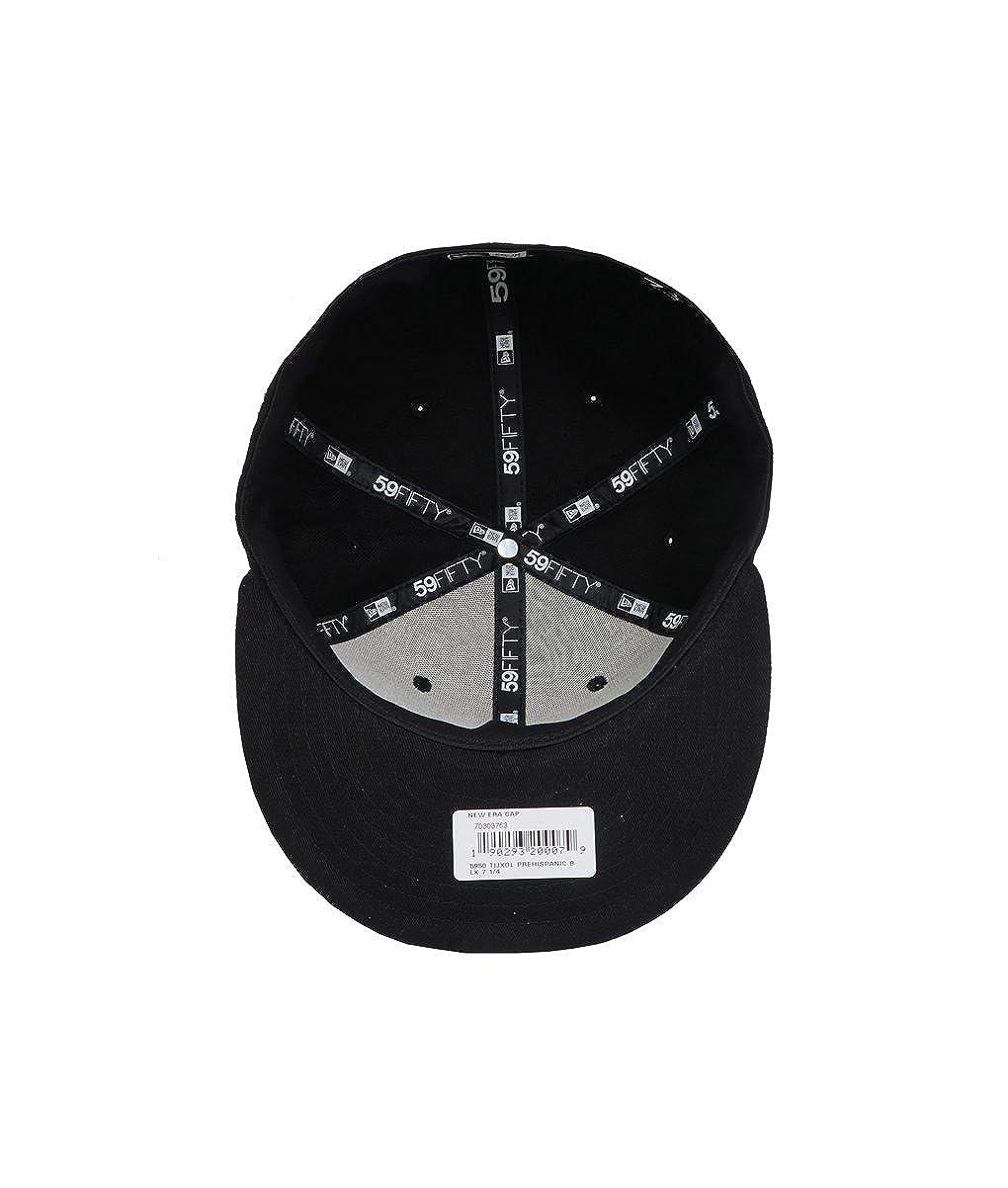 9368771628 Amazon.com  New Era 5950 Club Tijuana Xolos Prehispanic Fitted Hat (Black) Mexico  Soccer Cap  Clothing
