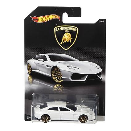 Hot Wheels Lamborghini Toy Car   Estoque White