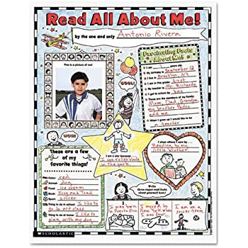 Scholastic Extra Extra Read All About Me Instant