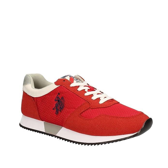 U.S. Polo Assn. NOBIL4090S7/NH1 Sneakers Hombre AVIO 42 E3fgTUpZX