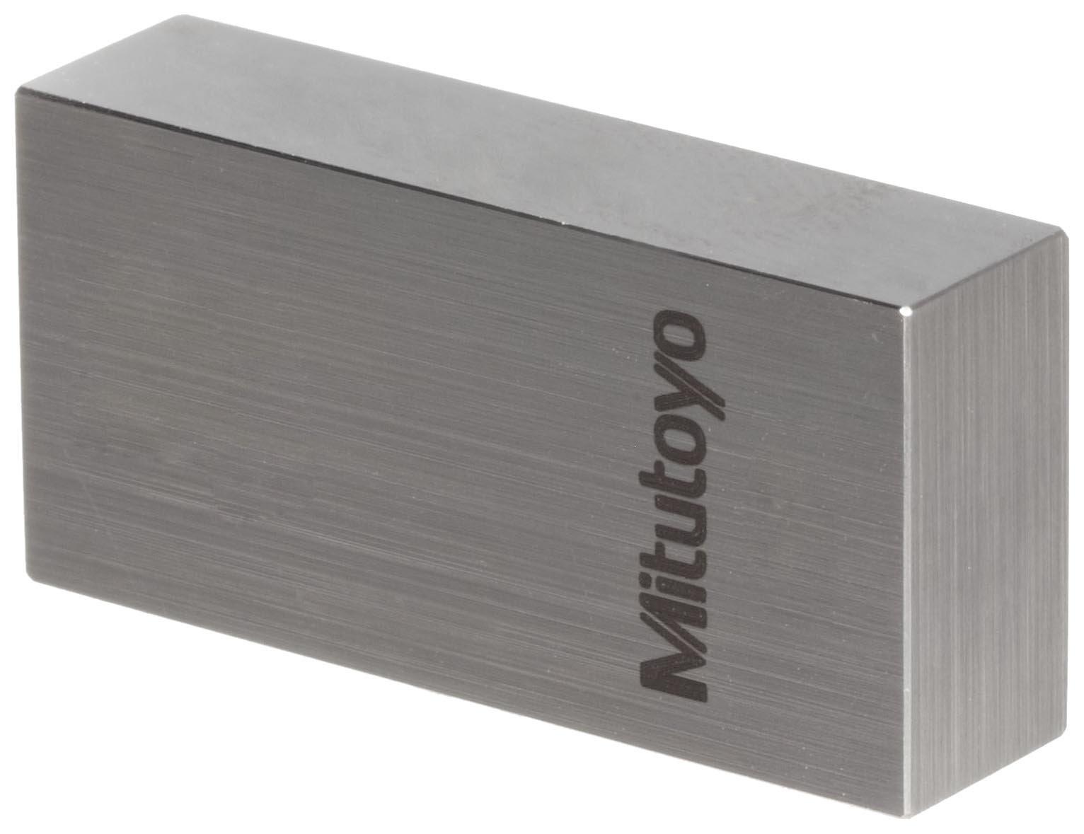 Mitutoyo Steel Rectangular Gage Block, ASME Grade 0, 0.102'' Length