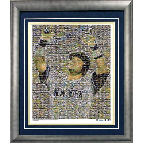 Steiner Sports MLB New York Yankees Nick Swisher Mosaic Framed 20x24 Photograph - Limited Edition of 1,000]()