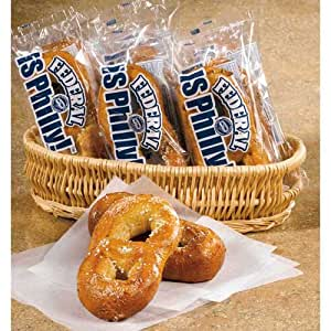 J and J Snack Individually Wrapped Federal Pretzel, 4
