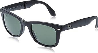 TALLA S (50 mm). Ray-Ban Folding Wayfarer Gafas de sol para Hombre