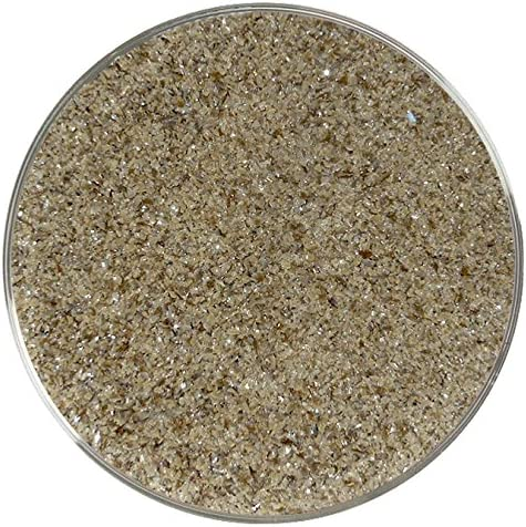 Made from System 96 Glass Chocolate Opalescent Fine Frit 96COE 4oz
