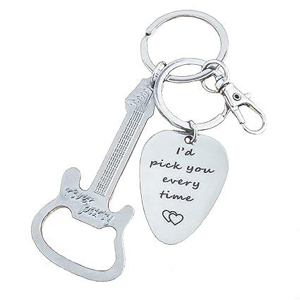 Amazon.com: JUSTE Keychain Bottle Opener for Boyfriend ...