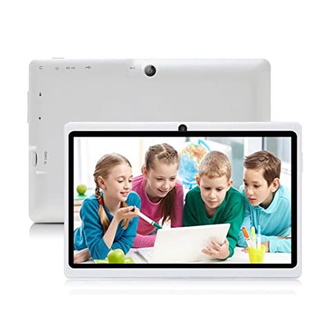 iRULU Tablet de 7 Pulgadas Google Android 6.0 Quad Core 1024x600 Cámara Dual Wi-Fi Bluetooth 1GB/8GB Play Store Netfilix Skype Juego 3D Compatible con ...
